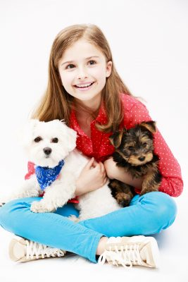 child with yorkie and maltese